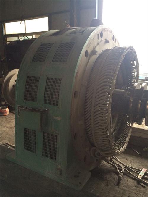 2000KW大型电机维修